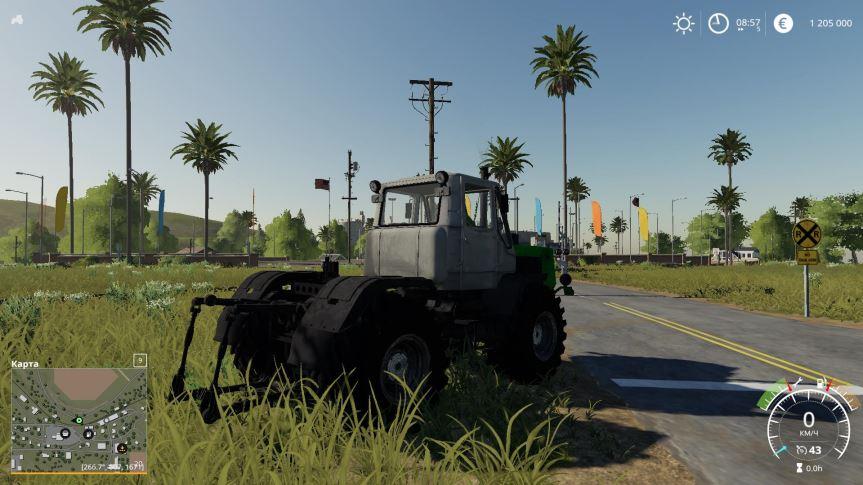 Мод ХТЗ Т-150 v 1.0 Beta для Farming Simulator 2019