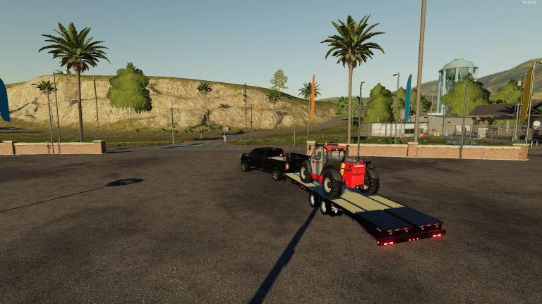 Мод 2011 Ford F-350 CrewCab v 1.1 для Farming Simulator 2019
