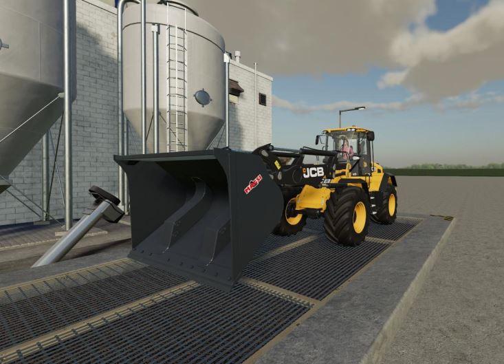 Мод Погрузчик JCB 435s 23.8 ton lift v 1.0 для Farming Simulator 2019