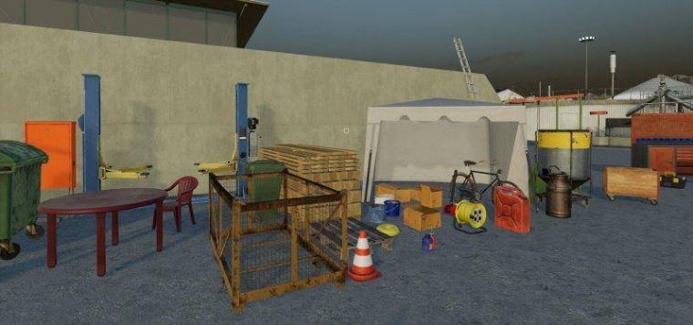 Мод FarmProps v 1.0 для Farming Simulator 2019