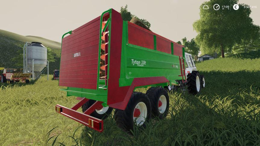 Мод Unia Tytan 10 v 1.0 для Farming Simulator 2019