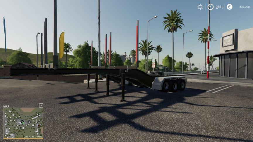 Мод Log Trailers v 1.0 для Farming Simulator 2019