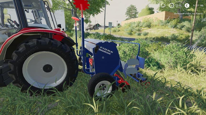 Мод Fiona Seedcom XC DC v 1.0 для Farming Simulator 2019