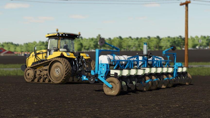 Мод Challenger MT700 US v 1.0 для Farming Simulator 2019