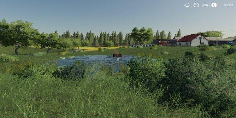 Мод Карта Lipinki Map v 3.0.2 для Farming Simulator 2019