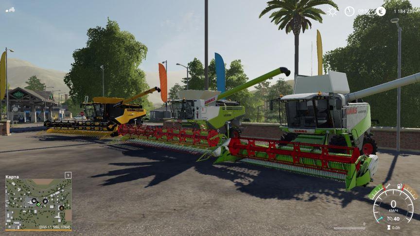 Мод Claas Pack By JBK v 1.0 для Farming Simulator 2019