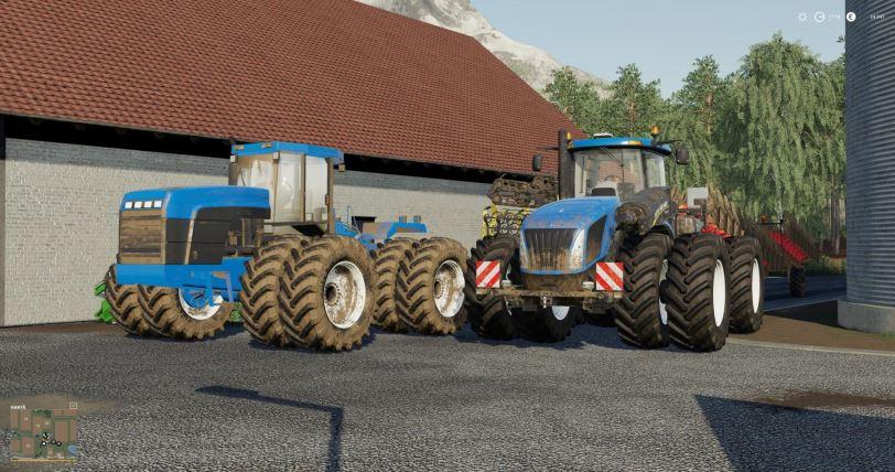 Мод Трактор New Holland T9 v 1.0 для Farming Simulator 2019