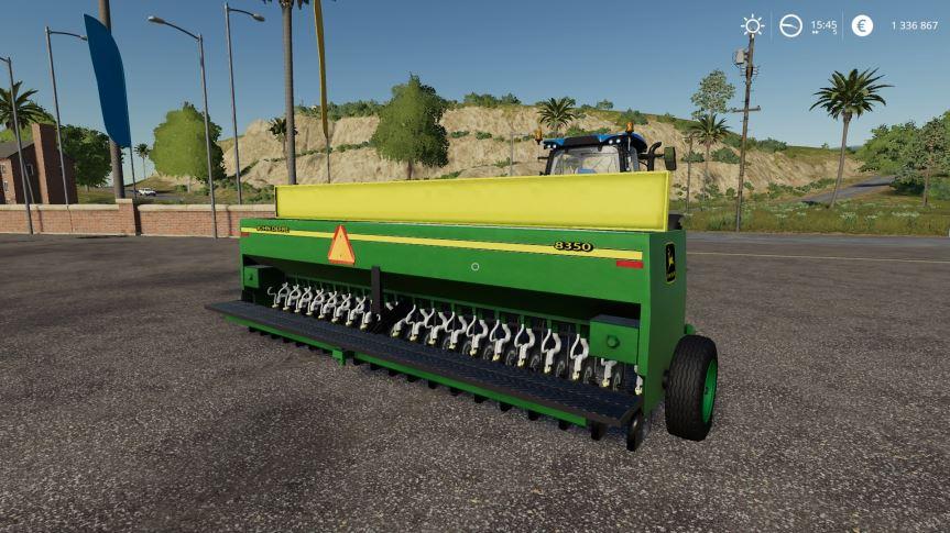 Мод John Deere 8350 v 1.0 для Farming Simulator 2019