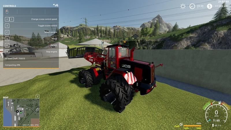 Мод JCb 435 SiloBoss v 1.2.4 для Farming Simulator 2019