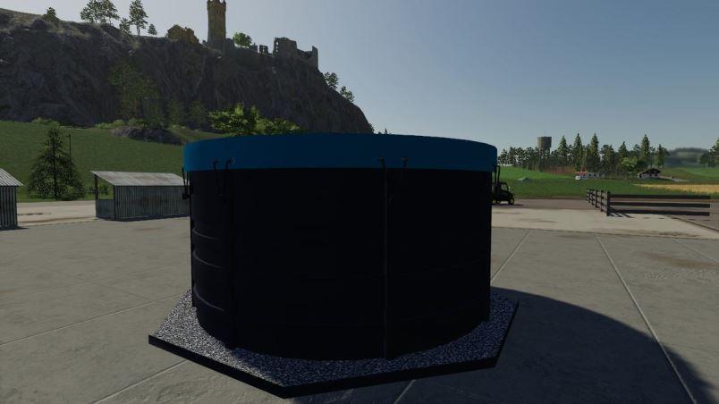 Мод Емкость с водой v 1.0 для Farming Simulator 2019