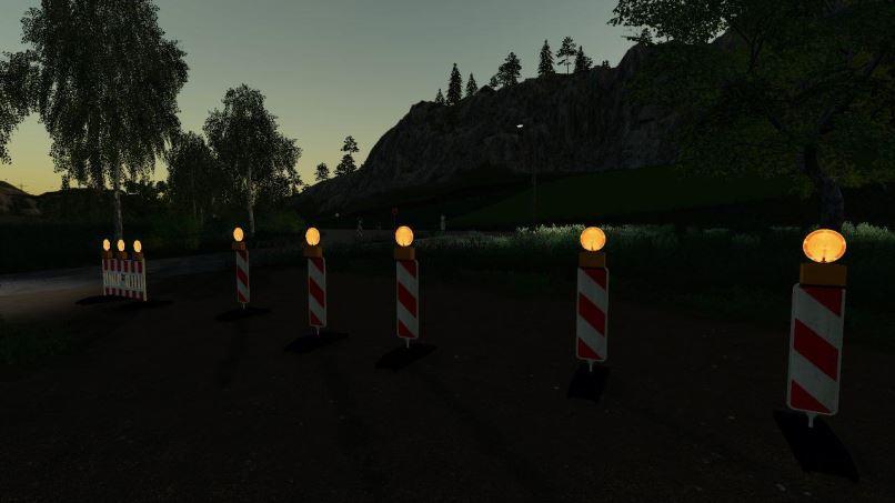 Мод Strassen Sperre v 1.0 для Farming Simulator 2019