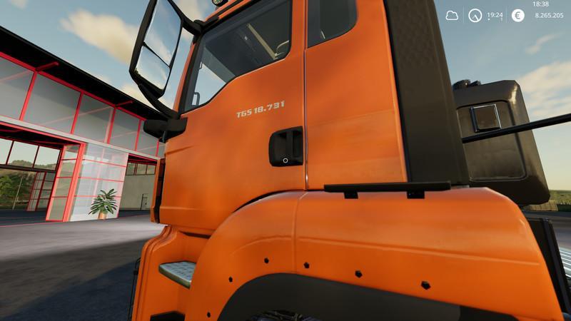Мод MAN Krampe trailer with trailer coupling Dolly v 1.1 для Farming Simulator 2019