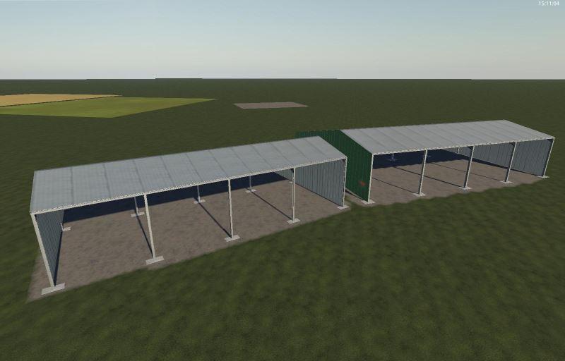 Мод Пак навесов v 1.0 для Farming Simulator 2019