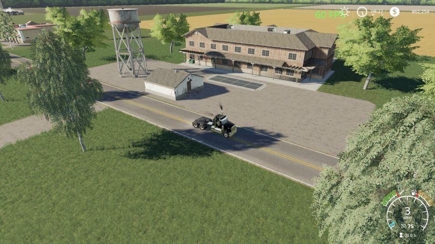 Мод Карта Pleasant Valley Farms v 1.0 для Farming Simulator 2019
