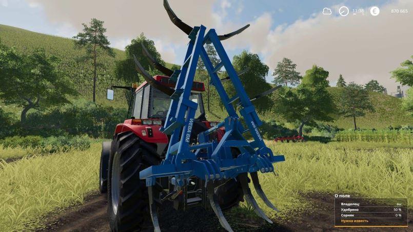 Мод Religieux Weba 6M v 1.0 для Farming Simulator 2019