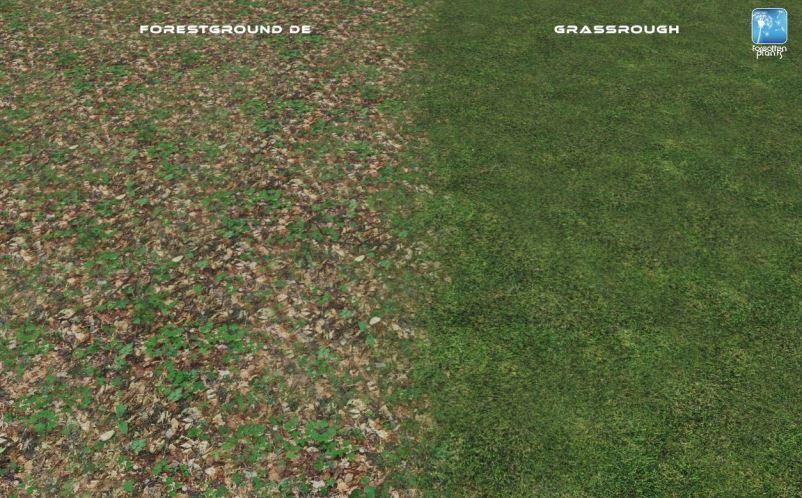 Мод Forgotten Plants - Terrain v 1.0 для Farming Simulator 2019