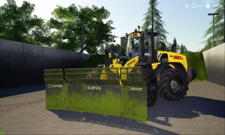 Мод Saphir Siloschilder v 1.0 для Farming Simulator 2019