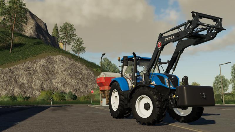 Мод BEMU 1050kg Frontgewicht v 1.0 для Farming Simulator 2019