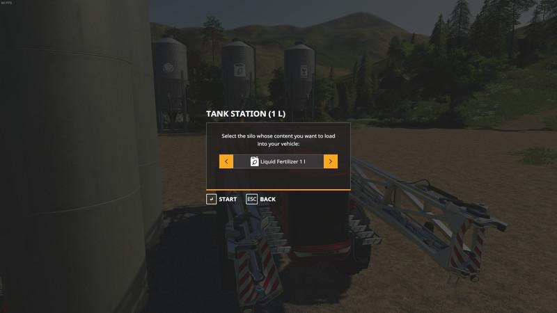 Мод Placeable Tank Station v 1.0 для Farming Simulator 2019