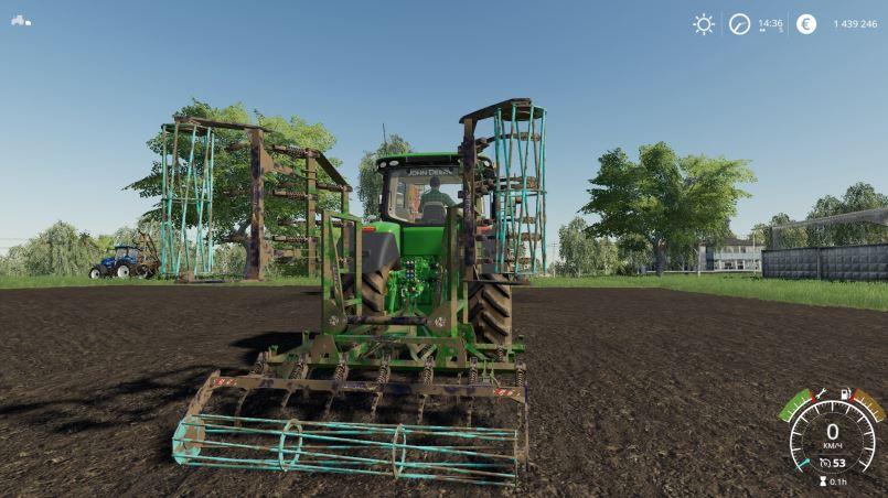 Мод Agromet Semichisel 6m v 1.0 для Farming Simulator 2019