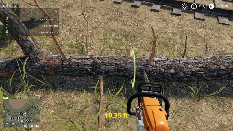 Мод Скрипт Measure Help v 1.1 для Farming Simulator 2019