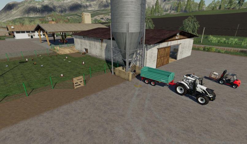 Мод Курятник v 2.0 для Farming Simulator 2019
