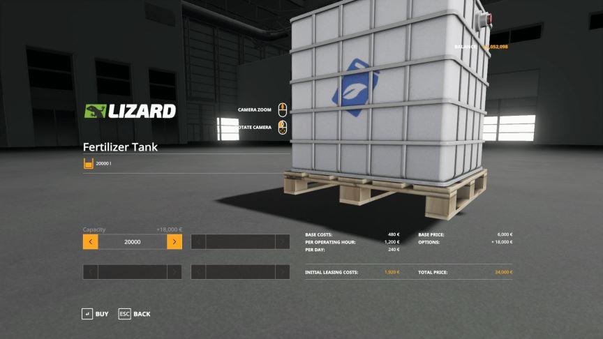 Мод Bigbags and Pellets 5000L, 10000L, 20000L v 1.0 для Farming Simulator 2019