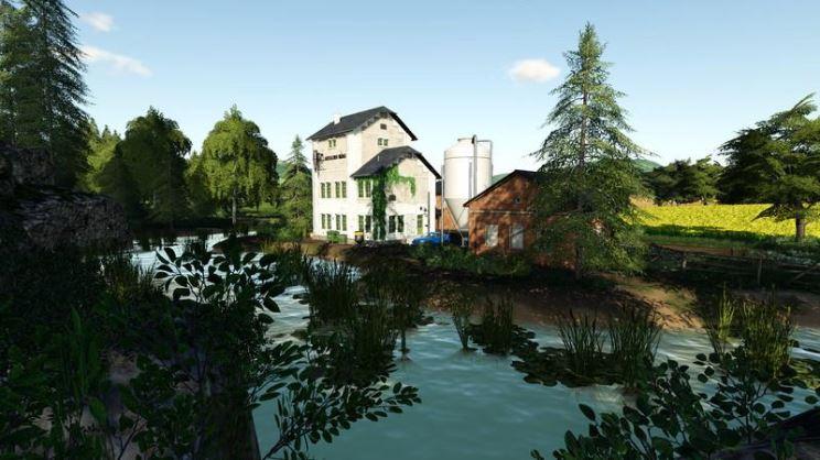Мод Карта Kleinsternhof Map v 1.0 для Farming Simulator 2019