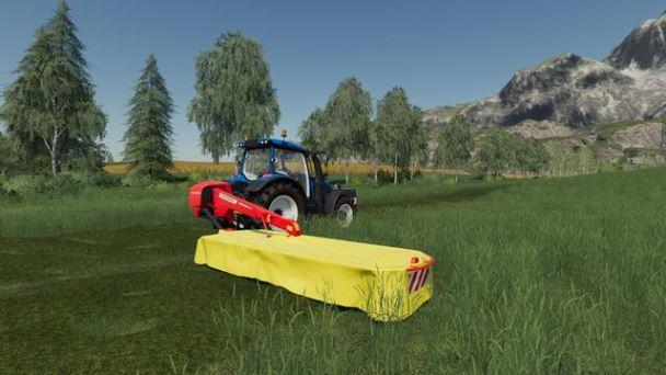 Мод Externe Modder Pottinger Novacat 402 v 1.0 для Farming Simulator 2019