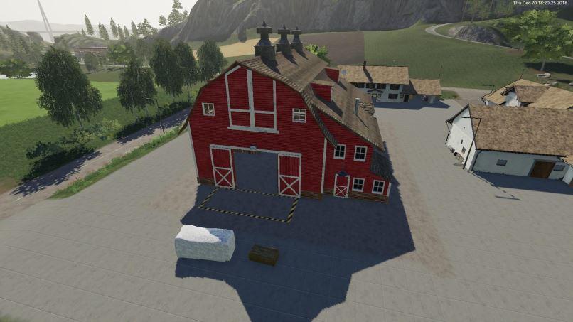 Мод Bale Barn SellPoint v 1.0 для Farming Simulator 2019