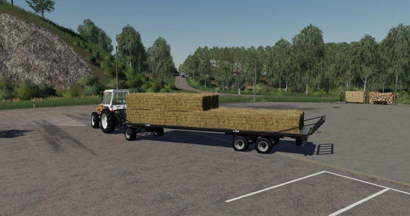 Мод Fliegl DPW 180 RB BD v 1.1 для Farming Simulator 2019