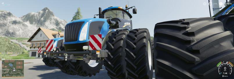 Мод New Holland T9.700 v 1.2 для Farming Simulator 2019