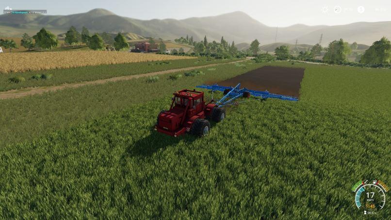 Мод Кировец К-700А v 1.0 для Farming Simulator 2019