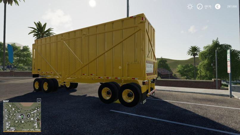 Мод Sugarcane trailer v 1.0 для Farming Simulator 2019