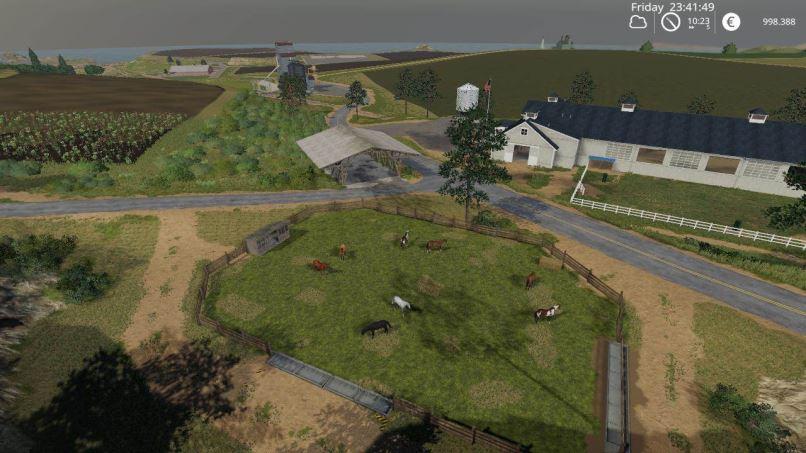 Мод Карта US Map Final для Farming Simulator 2019