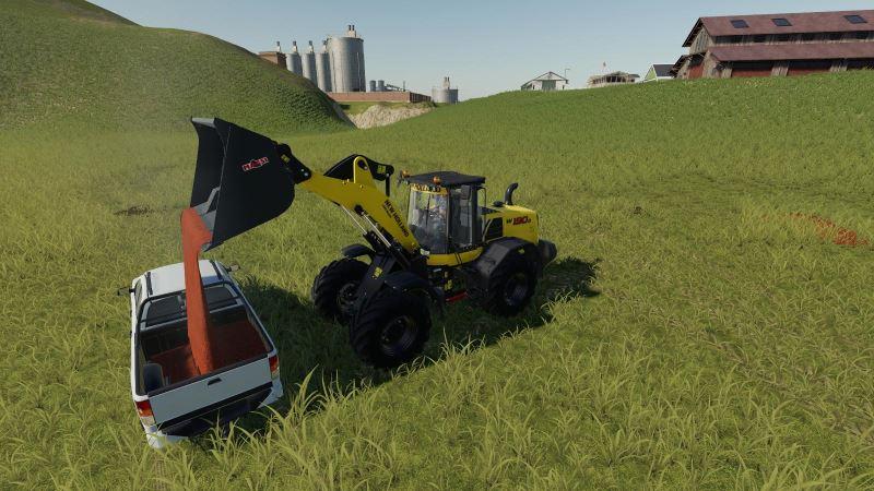 Мод Fillable Pickup 2014 v 1.1 для Farming Simulator 2019