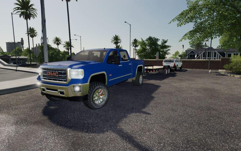 Мод 2016 GMC Sierra 2500HD v 1.1 для Farming Simulator 2019