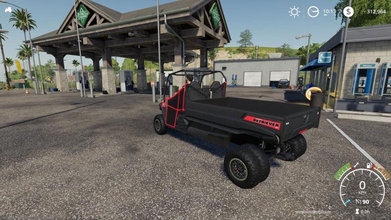 Мод Mahindra Retriever LongBox v 3.2 Utility для Farming Simulator 2019