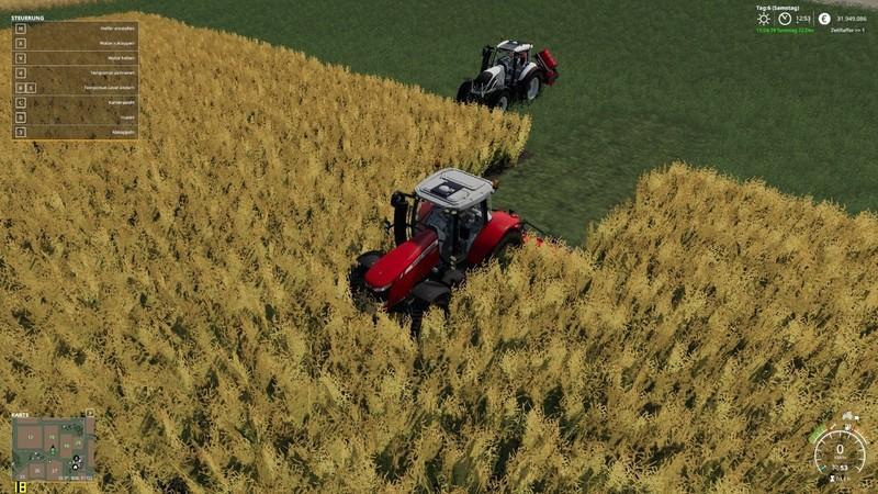Мод Saphir Stego Roller v 1.0.1.0 для Farming Simulator 2019