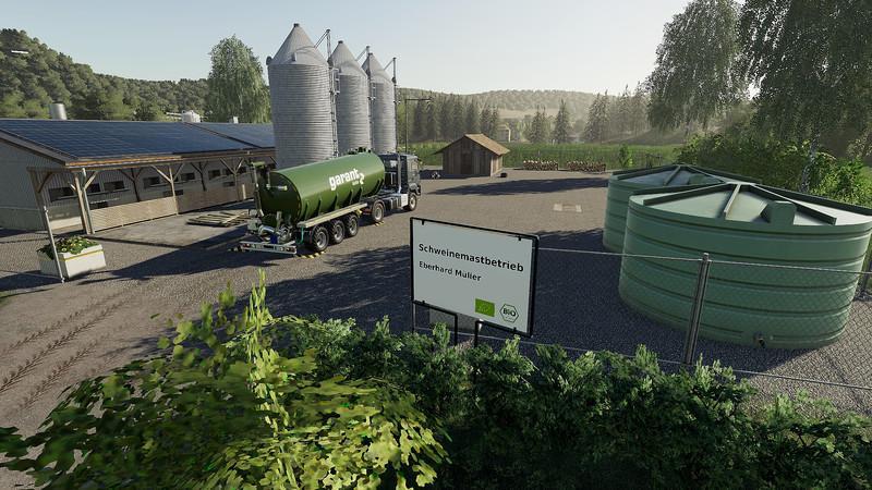 Мод Buy LiquidManure from Pigfarm v 1.1 для Farming Simulator 2019