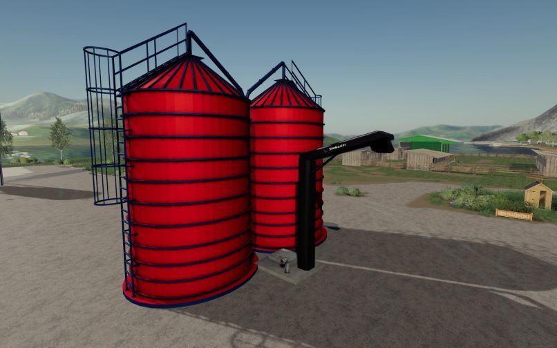 Мод Red Silo v 1.0 для Farming Simulator 2019