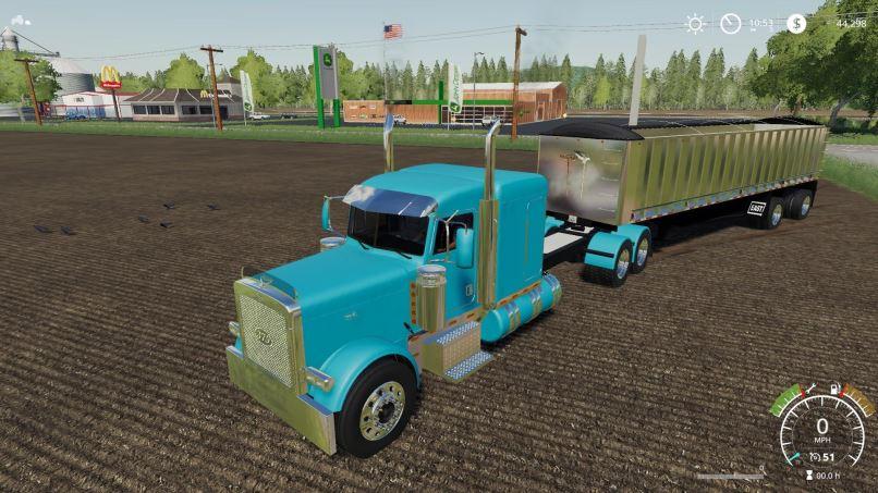 Мод Peterbilt 379 v 2.5 для Farming Simulator 2019