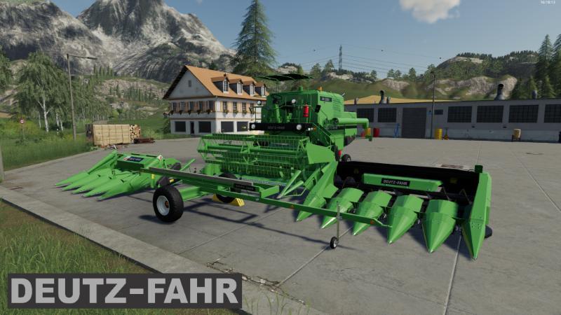 Мод Fahr Combine Pack v 1.0 для Farming Simulator 2019