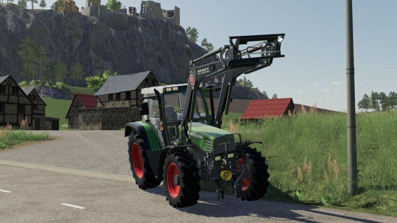 Мод Скрипт Frontloader Axle Lock Remover v 1.0 для Farming Simulator 2019
