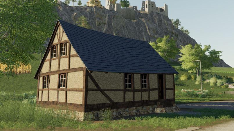 Мод Timberframe House v 1.0.0.1 для Farming Simulator 2019