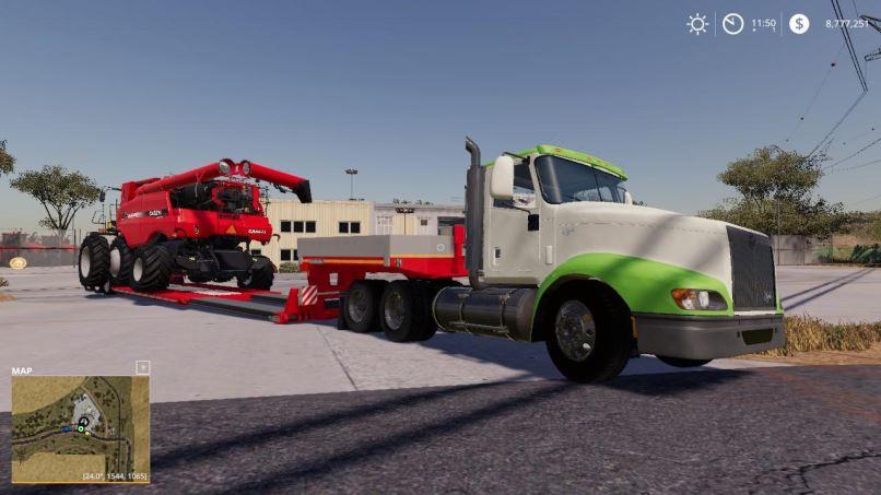 Мод International Eagle 9400 v 1.0 для Farming Simulator 2019