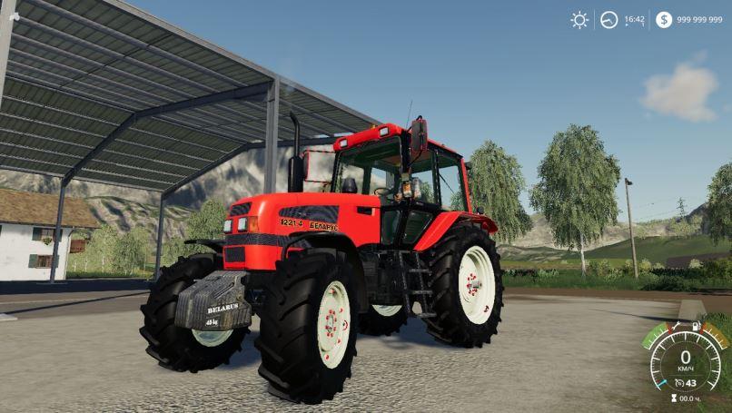 Мод МТЗ-1221.4 v 1.0 для Farming Simulator 2019