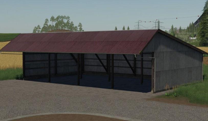 Мод Old mashinery shed v 1.0.1.0 для Farming Simulator 2019