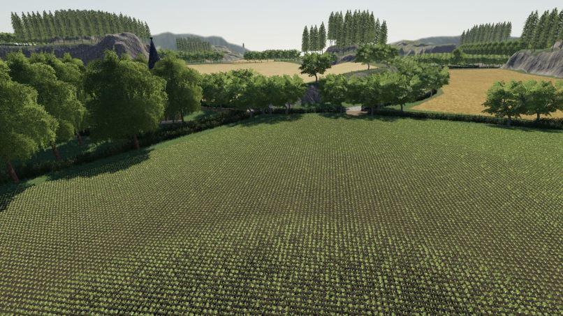 Мод Карта Riverview v 3.0 для Farming Simulator 2019