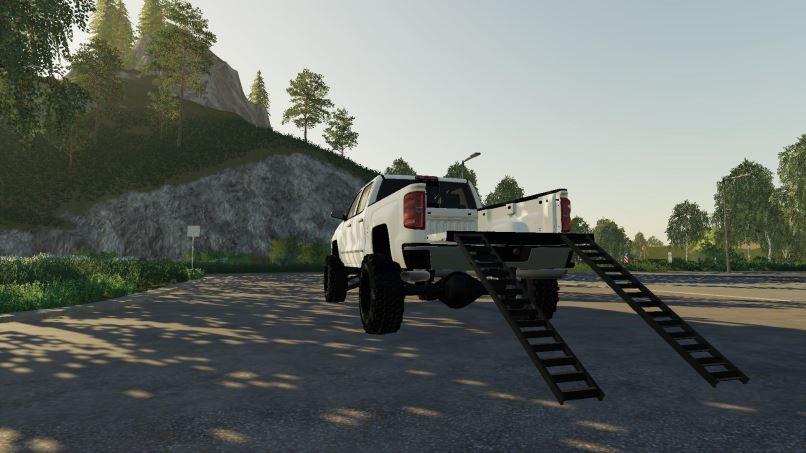 Мод 2016 Chevy 2500hd Duramax v 1.2 для Farming Simulator 2019